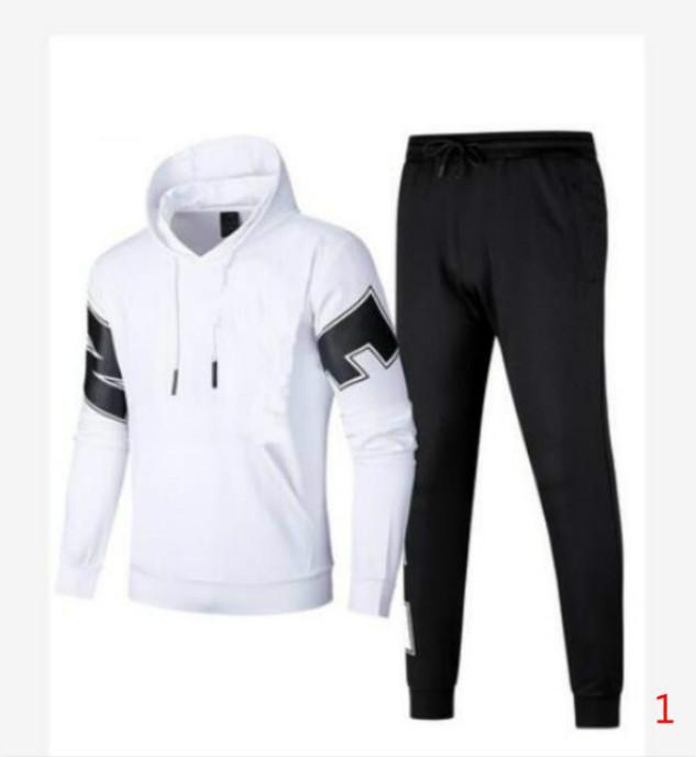 2020 Frühlings-Männer Frauen Tracksuits mit Letters 2020 Autumn Männer Sportanzüge beiläufige Hoodies Hosen-Größe M-4XL 2 Farben