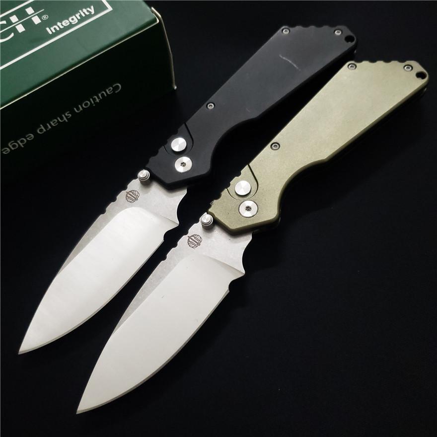 ¡Alta calidad! Cuchillo de bolsillo de Strider SMF plegable EDC Cuchillos de Alumnium manija lámina D2 cuchillos Utilidad de caza que acampa cuchillo táctico surrival