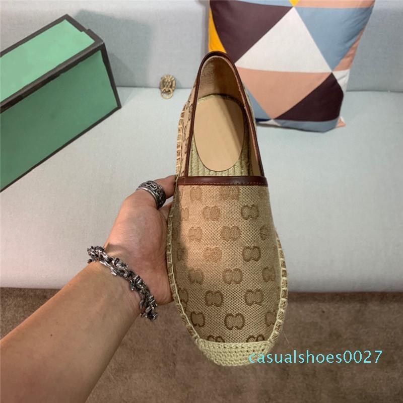 2020 Flats Espadrilles Yaz Yumuşak moda 2G Kuzu derisi Gerçek Deri Mesh OL Kaymaz Tembel Loafers Boş tatil ayakkabılar 11 C27