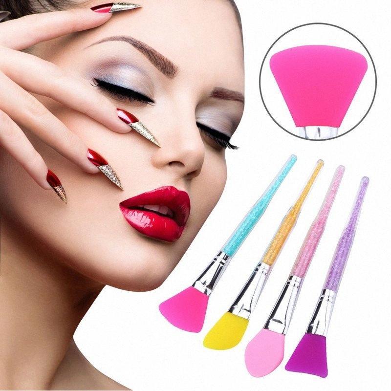 Professionnel silicone Masque visage boue mélange Outils Pinceau Soins de la peau Beauté Fondation Maquillage Brosses Outils R0335 Wxr6 #
