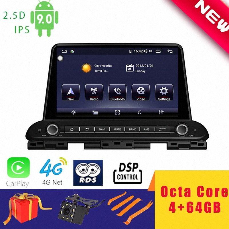 "9"" Stereo Android 9.0 Car Multimedia Player para Kia Cerato FORTE 2018+ Navigation Chefe Unidade Octa núcleo DSP 2.5D + IPS 4G Carplay carro dvd uuP1 #"