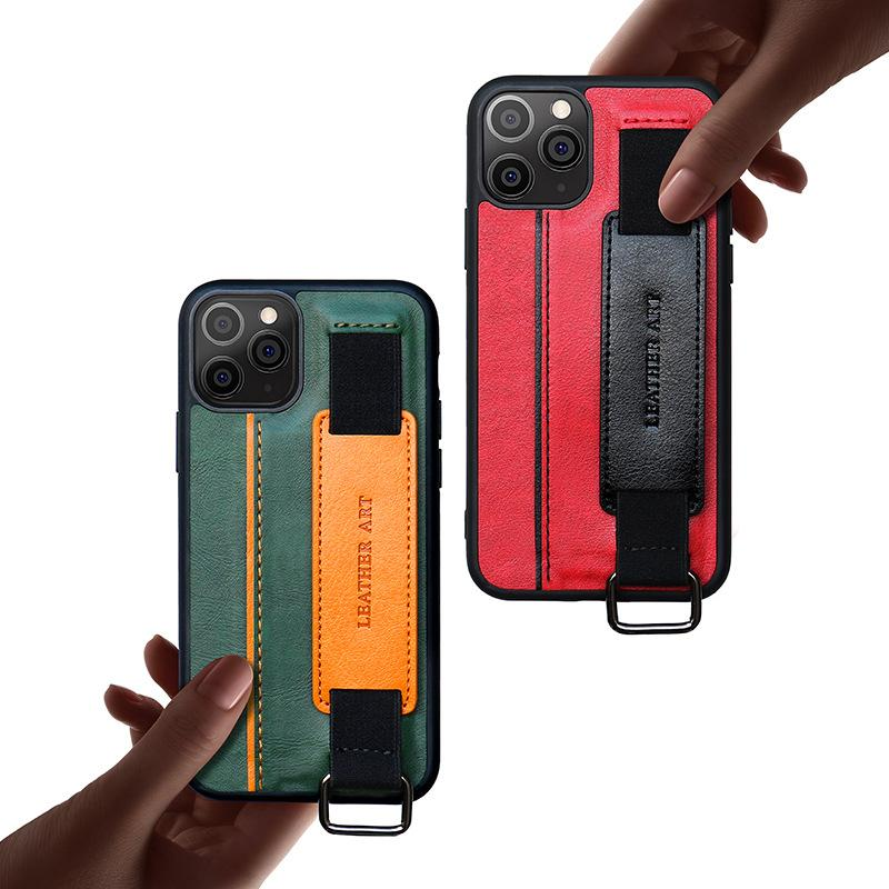 Phone 12 Case Bracket Wrist Strap Cell Phone Shell Phone Case For 12 Cases 12pro 11pro Max Xs Xsmax Shell Cell