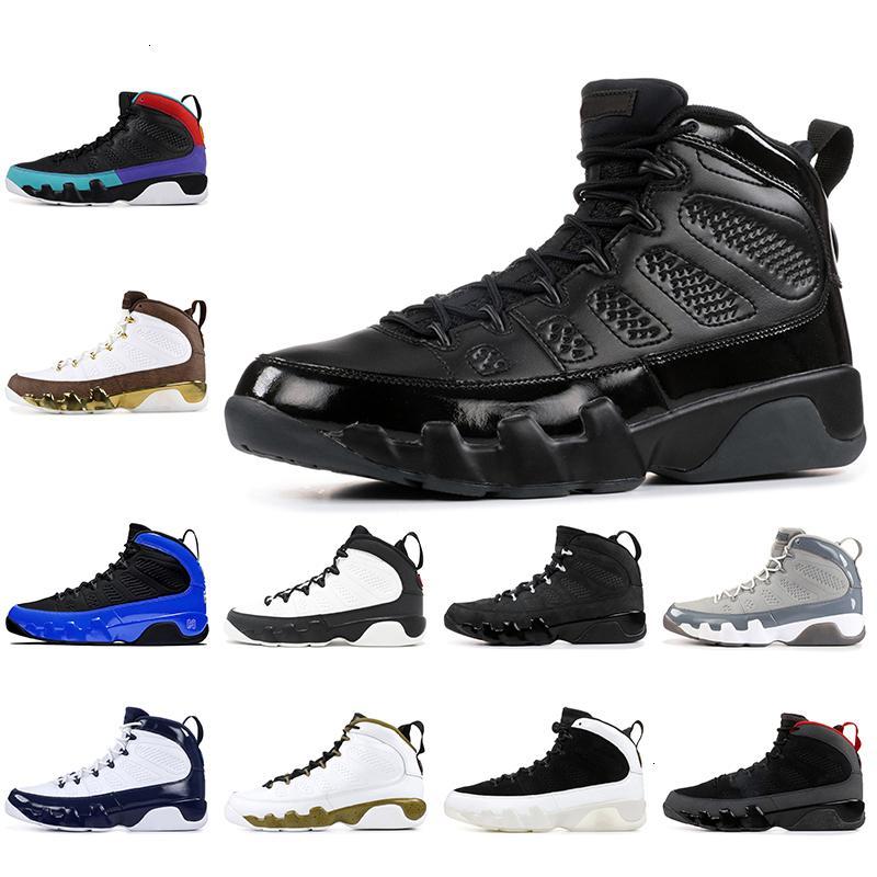 9 9s los zapatos de baloncesto del Mens Aire Racer Blue Dream Hágalo UNC atasco del espacio Oregon Ducks ESTATUA Jumpman Retr NakeskinJordánzapato Retros