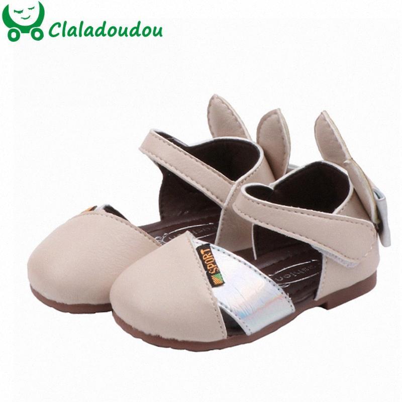 12-14cm Bebek İlk Yürüyenler İçin Kızlar İlk Doğum Günü Bebek Sevimli Kulaklar Pu Deri Ayakkabı Pembe Siyah Bej Bebek Kelebek Ayakkabı 0-2 c1Sz #