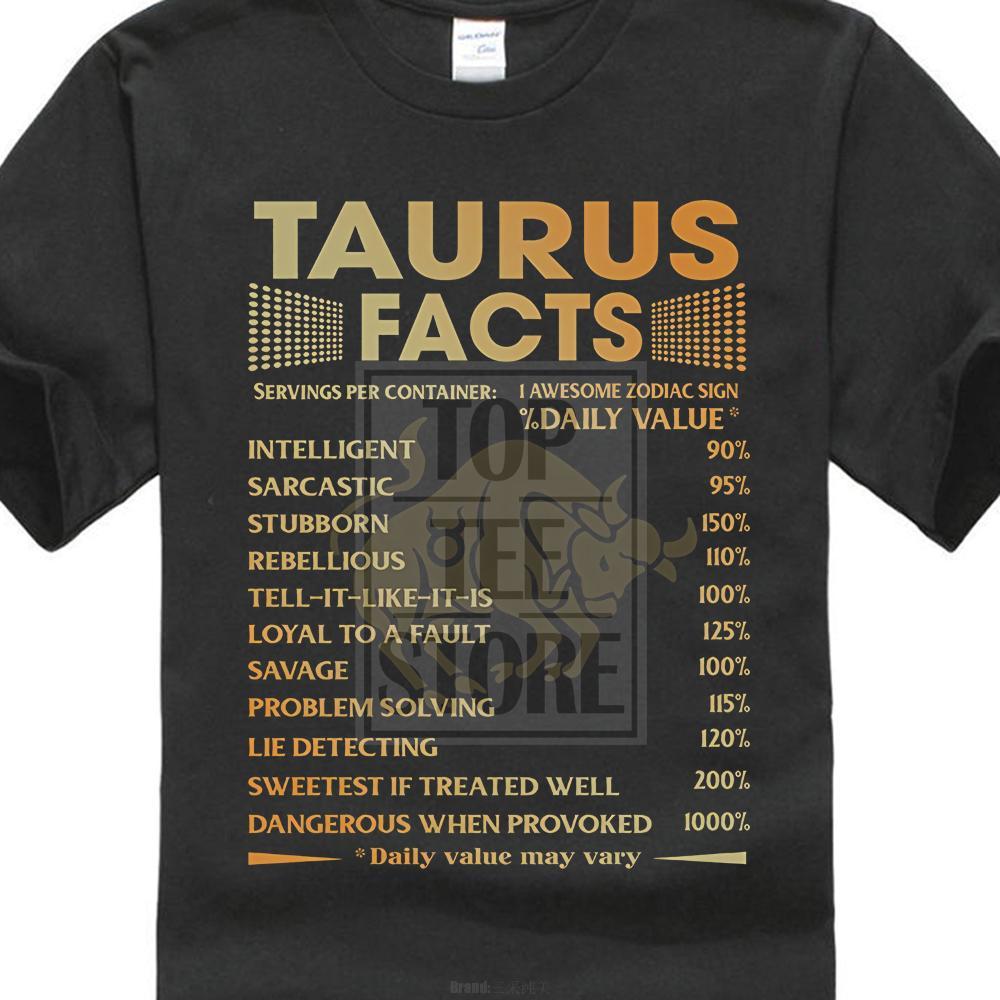 Summer Fashion T Shirt I modelli di base manica corta da uomo Toro Impressionante Segno zodiacale maglietta regolare girocollo Tee Shirt