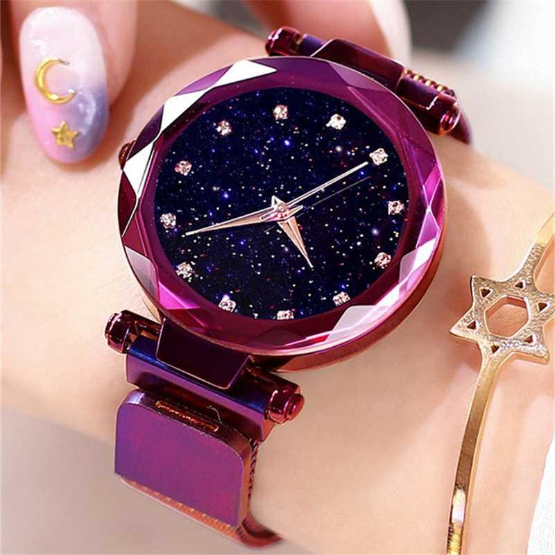 2020 New Rose Gold Women Watch Negócios relógio de quartzo Ladies Top Feminino de pulso Girl Clock presente Relogio Feminin