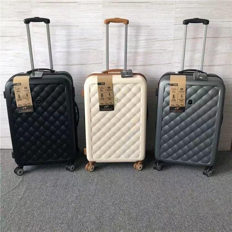 KAWEIDA Uomini Retro 20 25 29 Altezza bagagli di rotolamento bagaglio a mano Trolley Donne di viaggio trolley valigia On Wheels WiOv #