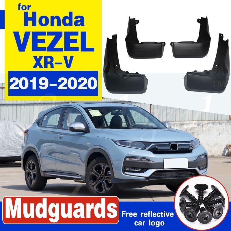 pour Honda XRV vezel 2019 ~ 2020 XR V XRV voiture boue arrière Garde-boue avant Rabats garde-boue Fender bavettes Flap 2019 2020