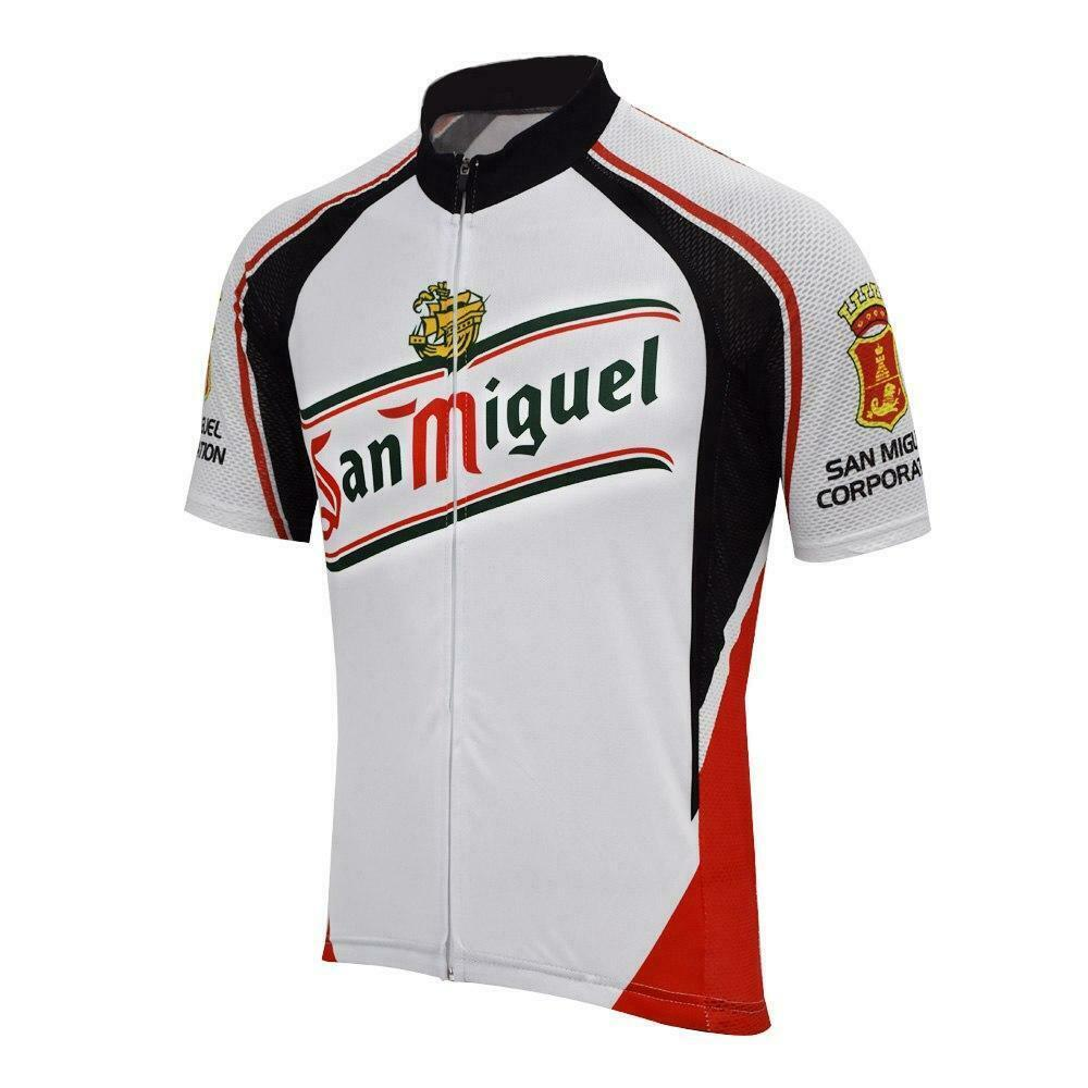 San Miguel Bira Jersey nefes bisiklet forması Kısa kollu yaz hızlı kuru bir bez MTB Ropa Ciclismo B26 bisiklet