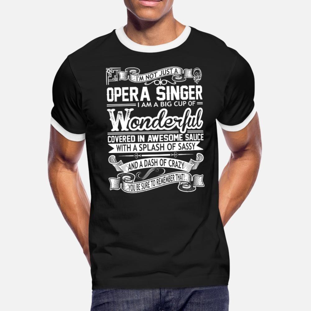 Chanteur d'opéra Big Cup Sauce Magnifique Sassy fou t-shirt design hommes manches courtes, plus la taille des vêtements de 3XL Mignon Casual chemise Automne Printemps