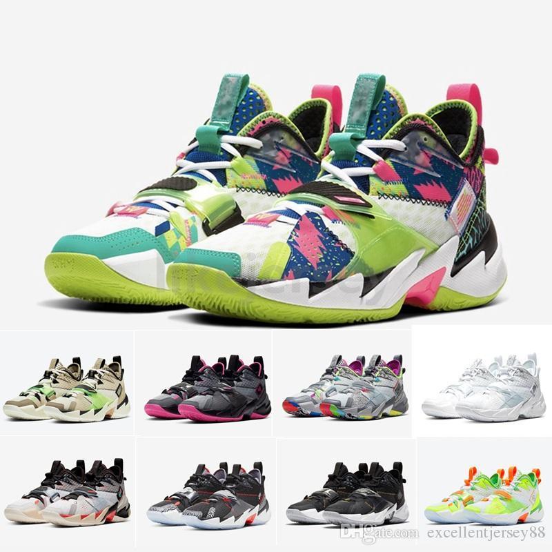 Warum nicht Null.3 2020 Russell Westbrook III Mens Basketballschuhe Jumpman Black Cement Splash Zone KB3 Heartbeat Sport Sneakers Größe 7-12