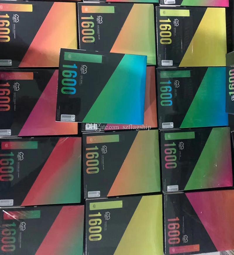 Más nuevo soplo XXL 1600puffs Vape desechable Dispositivo de pluma Kits Sigues Kits Desechables Kits Flow Flow Flow Xtra