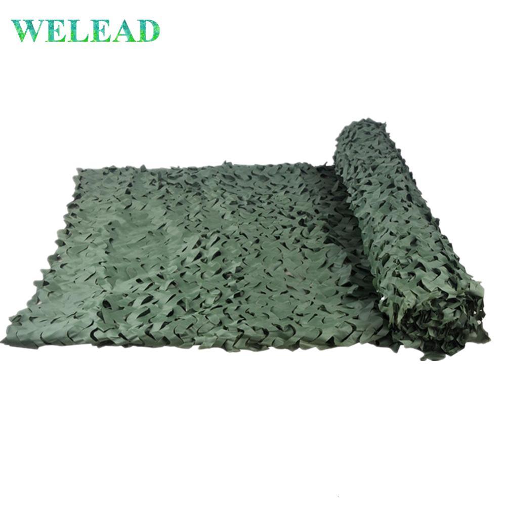 LOOGU simple camuflaje verde Nets 3x3 2x3 Carpa 1.5x5 Ejército Camo de coches Tienda de la playa Toldo de Sun Jardín Refugio Lona Parasol
