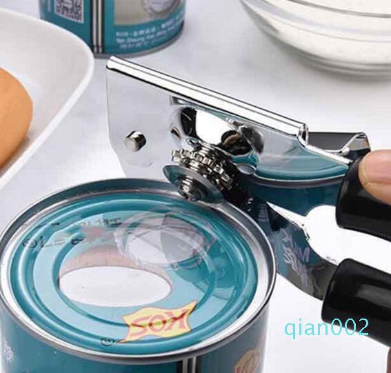 Creative-Edelstahl kann Professional einfach Safety Manual Side Cut Manuelle Flaschenöffner Ergonomische Küchenwerkzeug lp0110 Dosenöffner