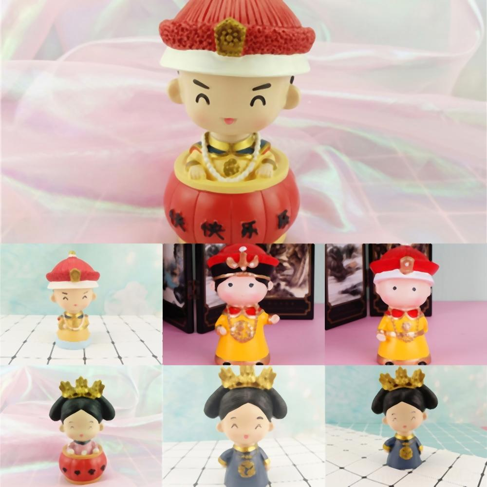 estilo cm PVC ShakingMan chinês Q Versão Aranha Favorita Chefe Anime Opera Action Figure Toys Car Seu Modelo 1ZLLh