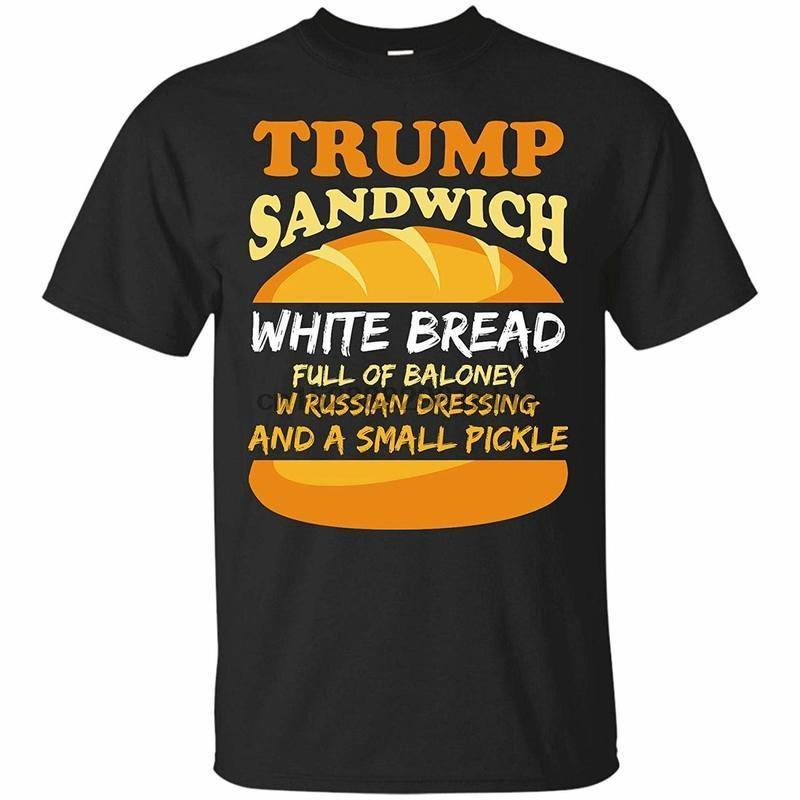 Clothing Trump Sandwich Anti Trump Impeachment Funny T Shirt 1271