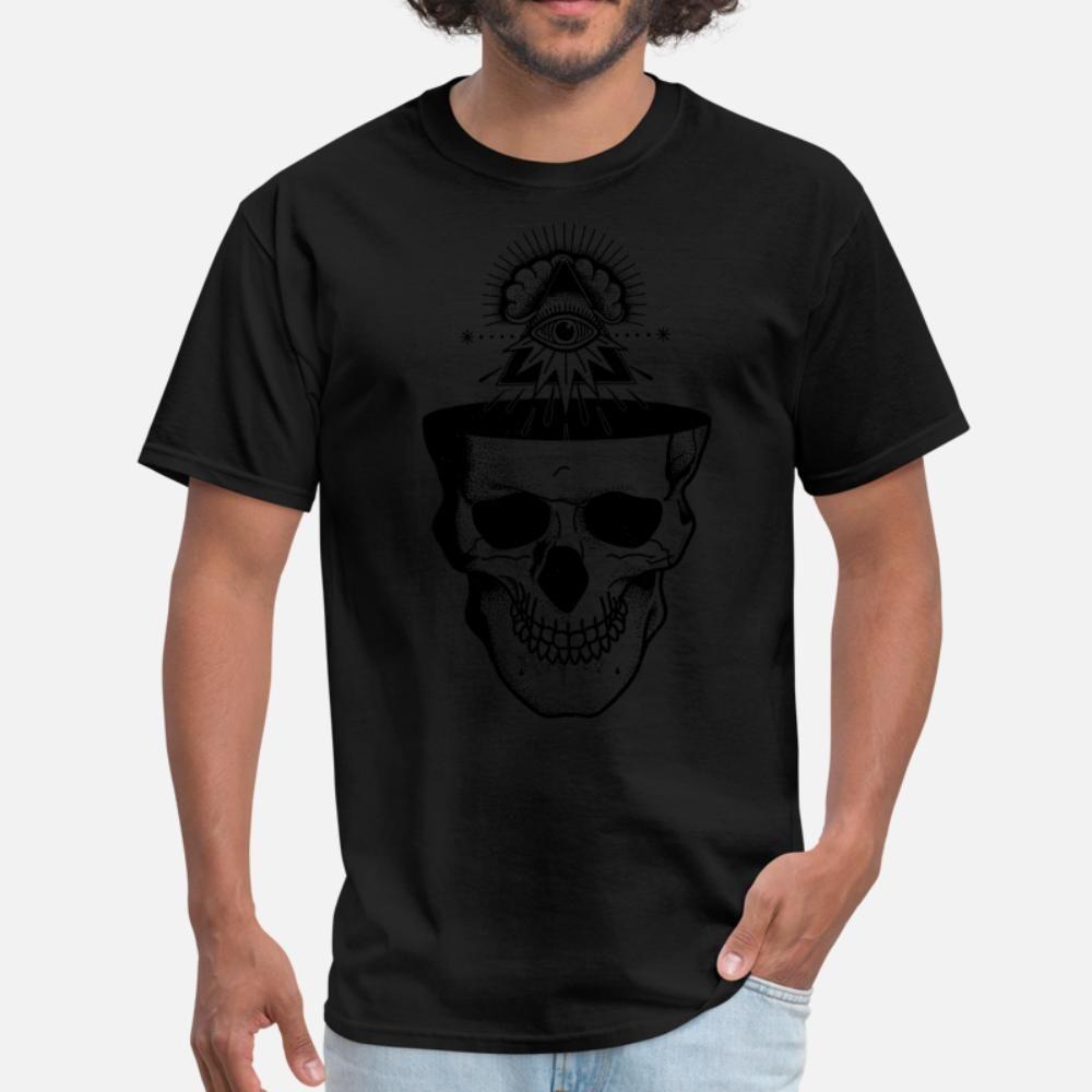 Dead But Awake T-Shirt Männer-Charakter-T-Shirt-runde Kragen-Grundmassiv Sonnenlicht New Artfrühling Standard-Hemd