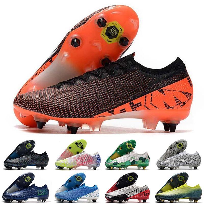 Düşük Mercurial Superfly SG VII 7 Futbol Ayakkabı 360 Elite XII CR7 SE Ronaldo Neymar Erkek Kadınlar Ucuz Orijinal Futbol Çizmeler Cleats EUR39-45