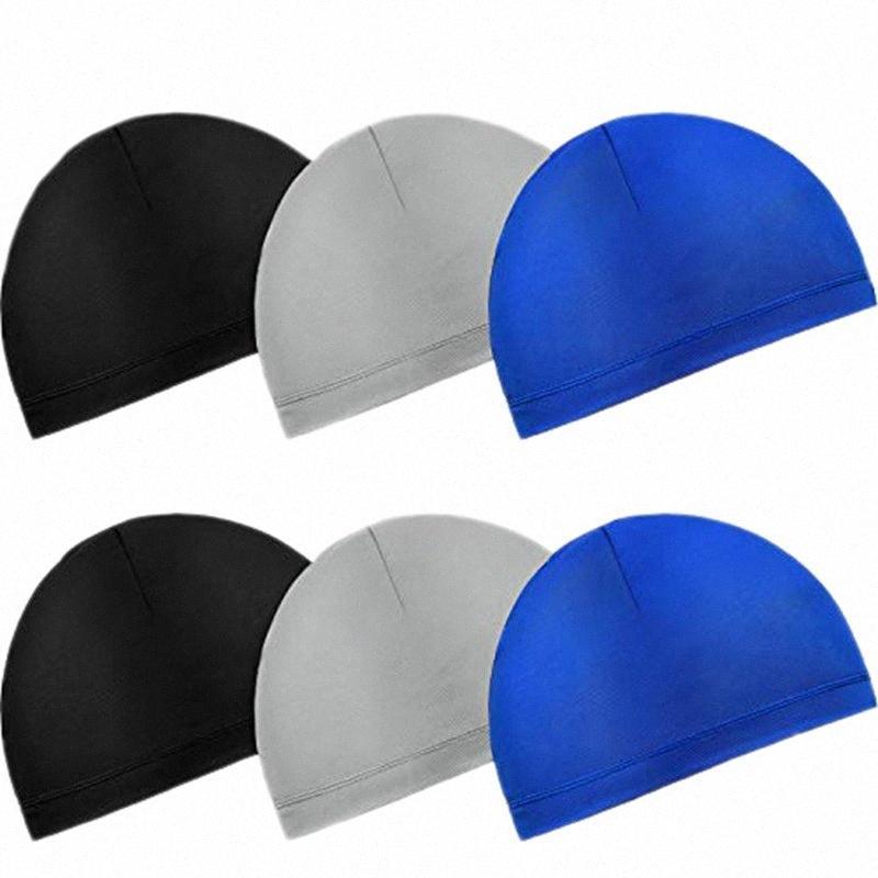 6PCS Helmet Liner para mulheres dos homens do capacete da motocicleta capacetes Liner Sports Correndo Caps Wicking Orod #