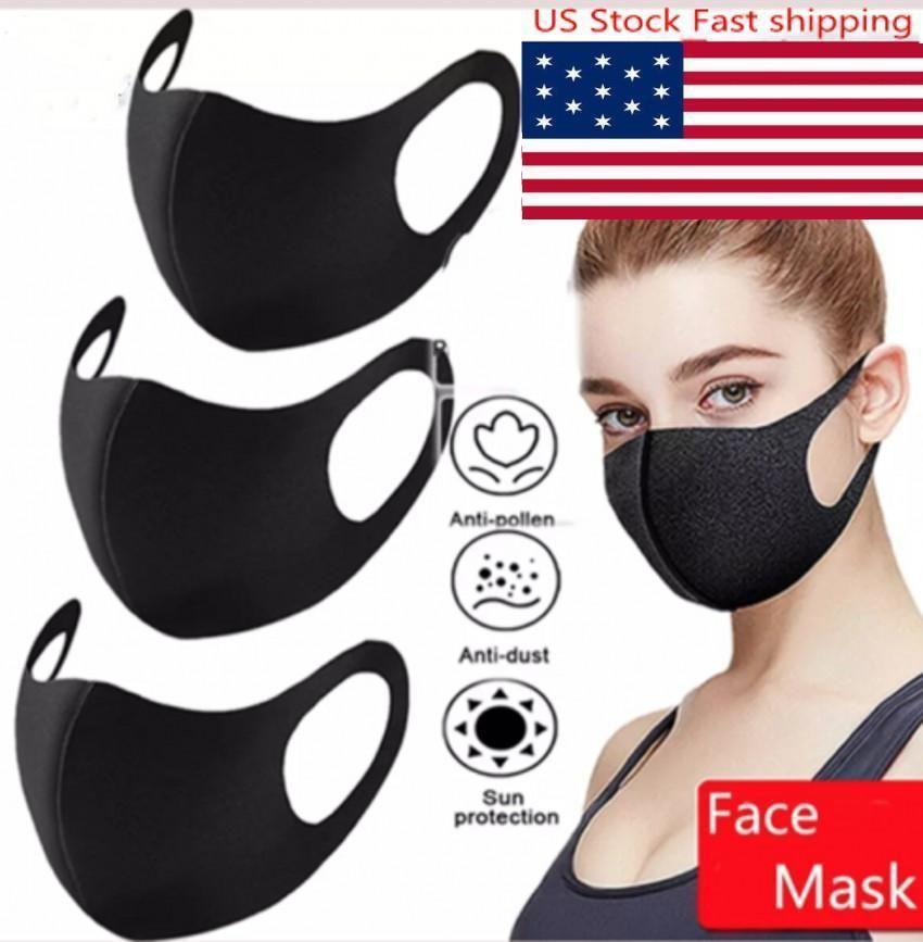 DHL DesignerFashion моющегося Защитные маски для лица Черного Хлопок Многоразовых взрослые Детей против пыли Велоспорт Рот маски Детей Ткань Маски FY9041