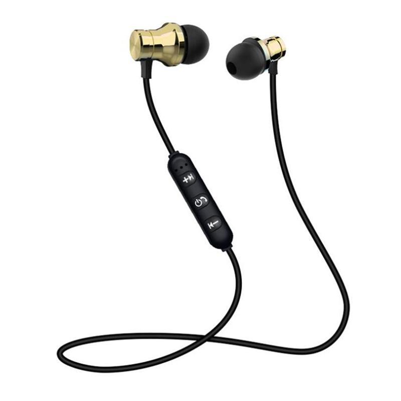 سماعات الرأس المغناطيسية إلغاء الضوضاء في الأذن XT-11 سماعات سماعات بلوتوث لاسلكية ل IP8 8S ماكس سامسونج مع صندوق البيع بالتجزئة