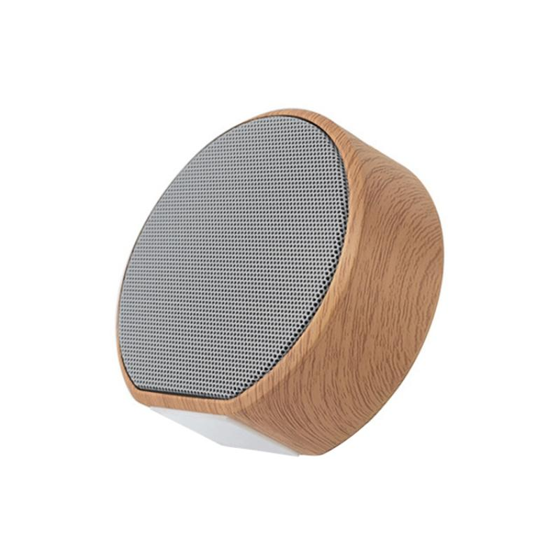 A60 беспроводной динамик Bluetooth Wood Grain Mini Card Сабвуфер Wood Grain Компьютер Mini Speaker