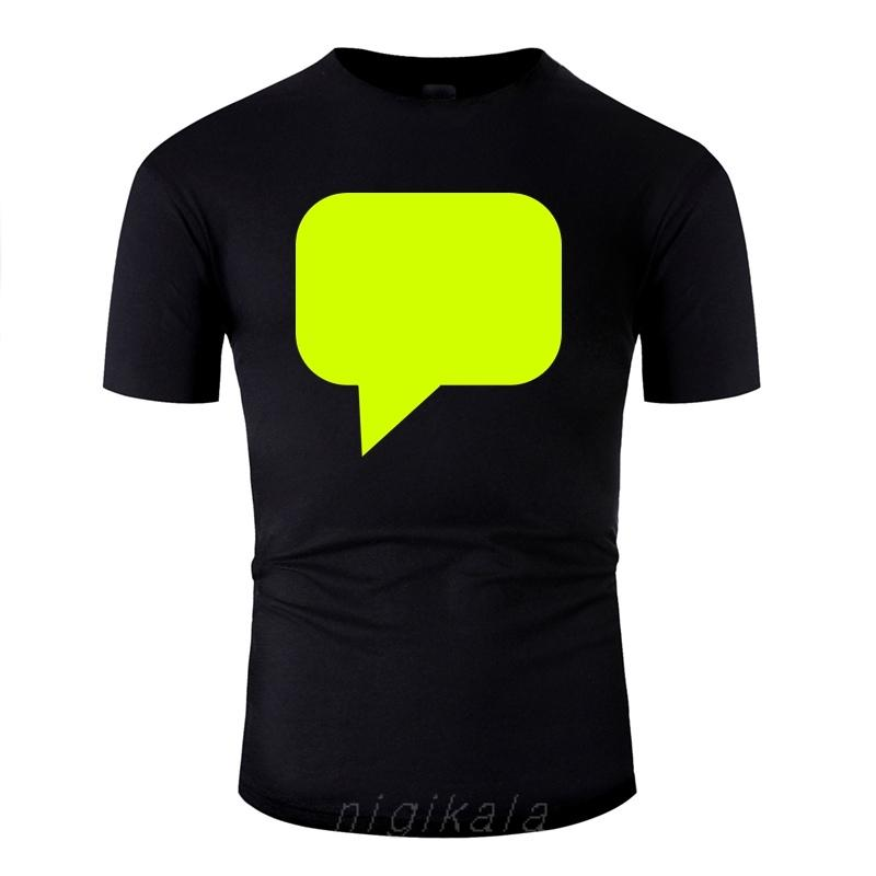 La nueva camisa de la burbuja del mensaje la camiseta para hombre Hombres gráfico t camisas de cuello redondo Camisas