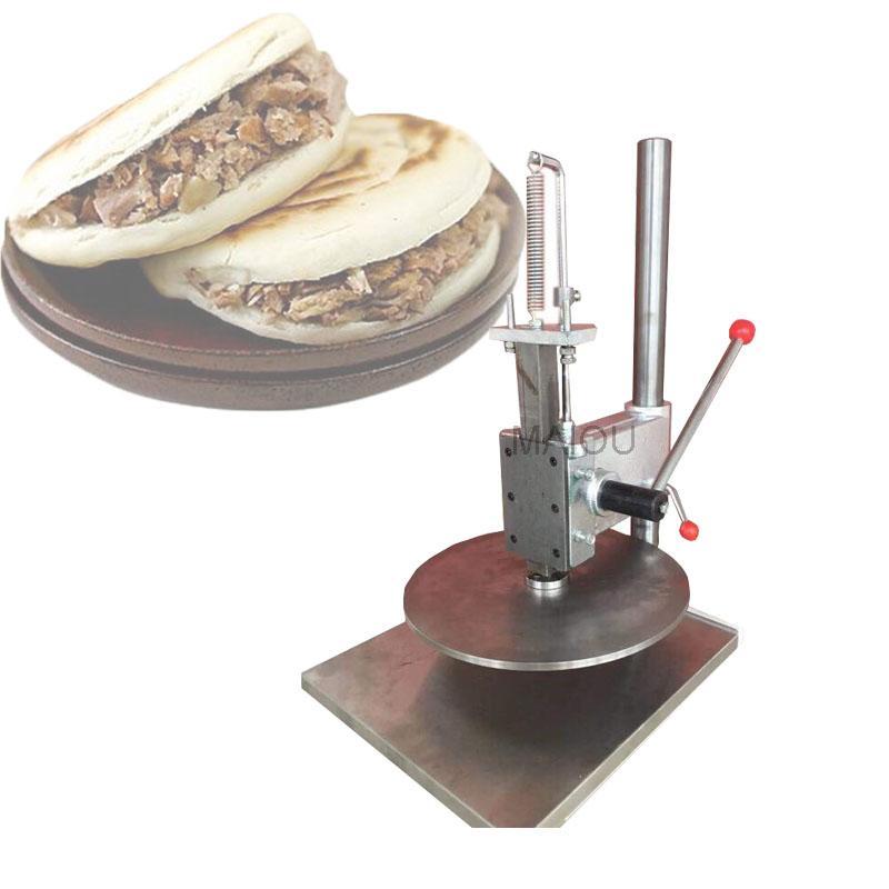 Vente chaude 22cm / 25cm / 30cm / 35cm machine de presse de pâte à pizza à la main / Manuel Pizza main Pâte aplanissement Presse