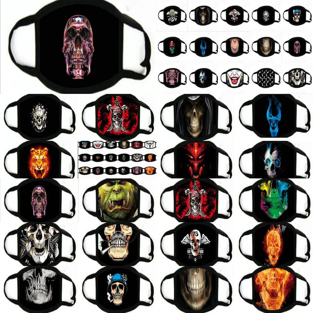 Disfraces Cosplay de mascarillas divertidas de Halloween máscara para niños diseñador de la cara Máscaras Ybuzy Myhome001