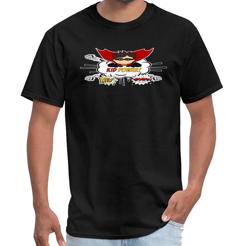 Designer Kid Poder Super Hero Tema do menino tshirt 3d homme Tyler camisa criador t 3xl 4xl 5XL hiphop topos