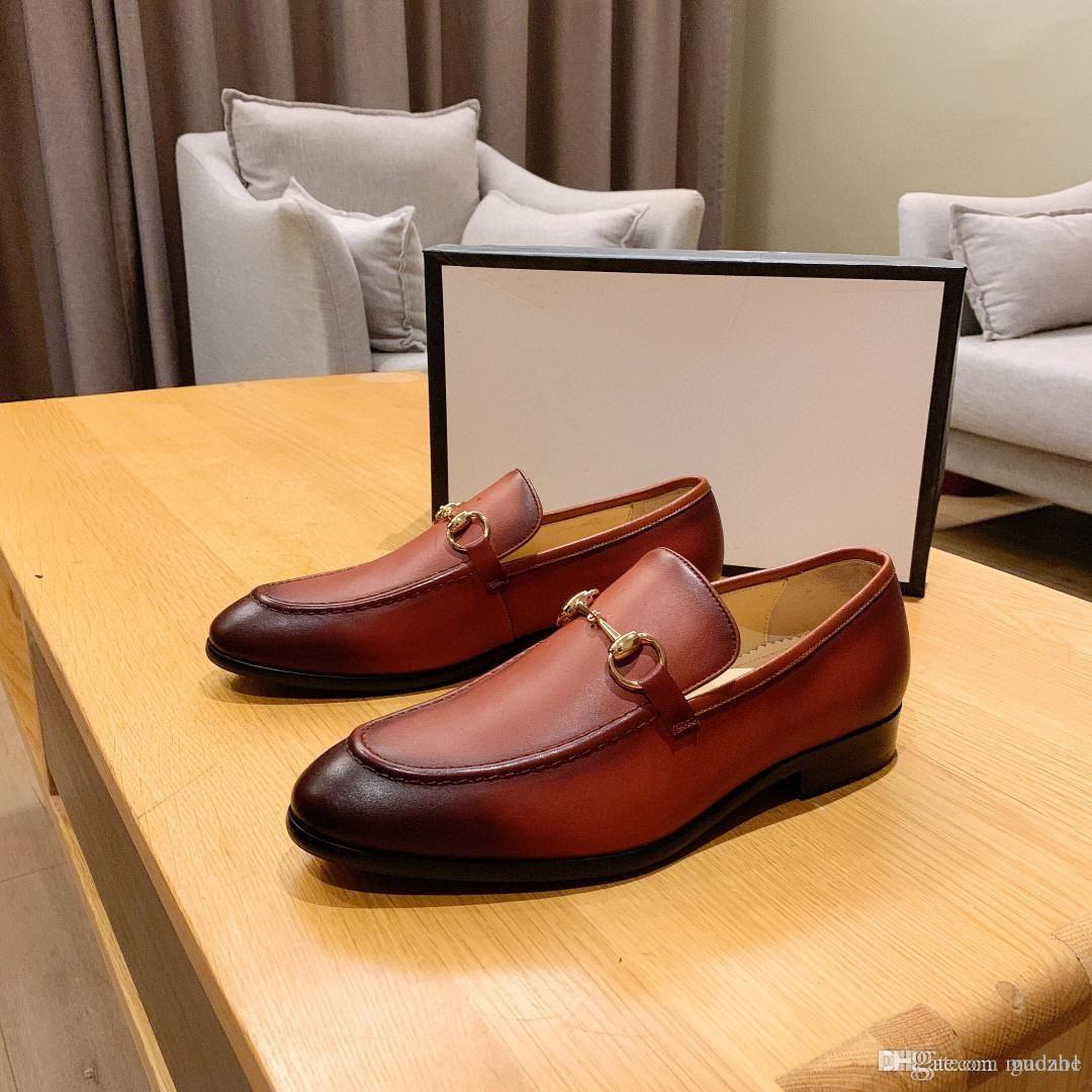 Los hombres de negocios formal Brogue zapatos de lujo zapatos de vestir de los hombres de cocodrilo masculino casual de la boda del cuero genuino de los holgazanes del partido 33