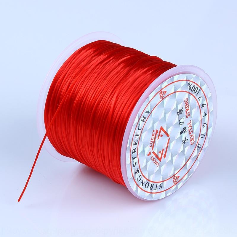 Grande colore cristallo extra Diy buddha del braccialetto Buddha branelli corda elastica linea elastica braccialetto handmade diy più fili perline linea 9Tv1