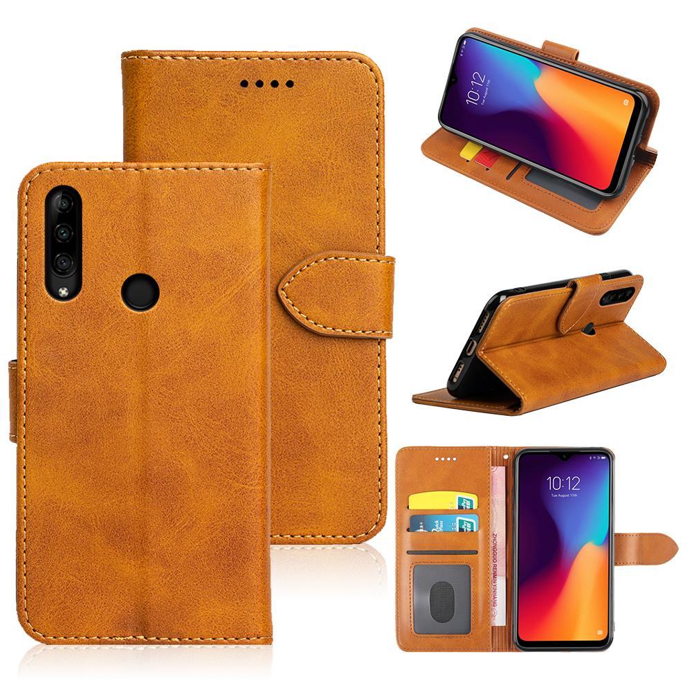 Flip Wallet Leather Case For Lenovo K10 Plus back cover phone Case