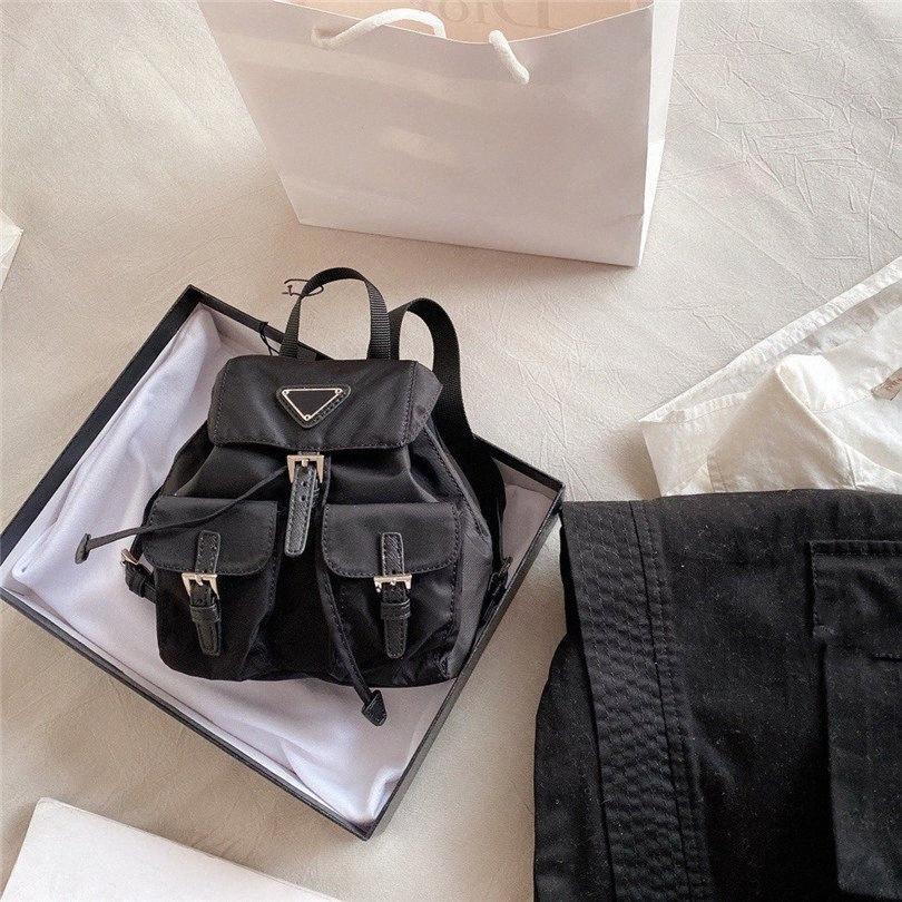 Moda Tasarımcısı Sırt Çantası Omuz Çantası Naylon Crossbody Sırt çantaları Okul Çantası Mini CFY2005054 BZno #