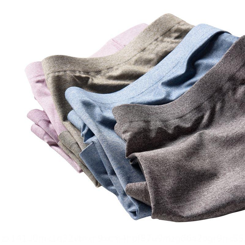 cueca Jumpsuit boxer sem costura uma peça boxer calças jovens meados de cintura respirável grandes calças tamanho dos homens cabeça calções estourar etFn4