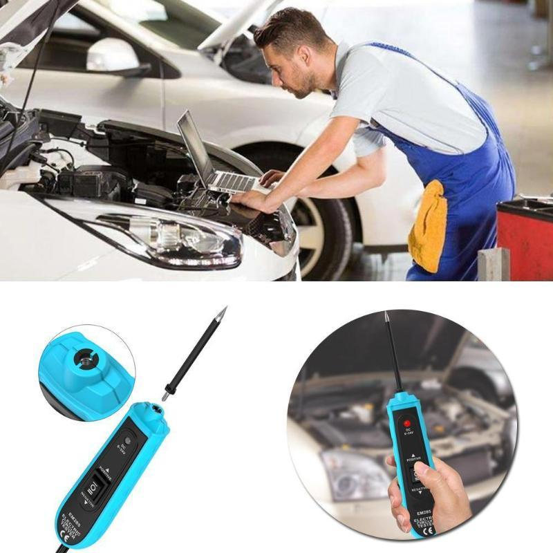 Hot Power Probe Car Electric Circuit Tester Automotive with Cable All Tools 6-24V EM285 Sun 5m C5H0
