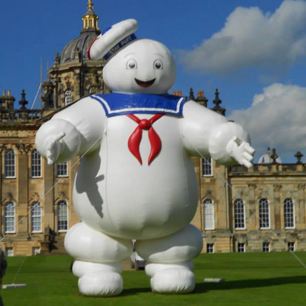 حار بيع أوكسفورد هالوين شخصية نفخ البقاء puft الكرتون نموذج ghostmaster marshmallow رجل مع رخيصة الثمن والأضواء في المملكة المتحدة / الولايات المتحدة الأمريكية / ذلك