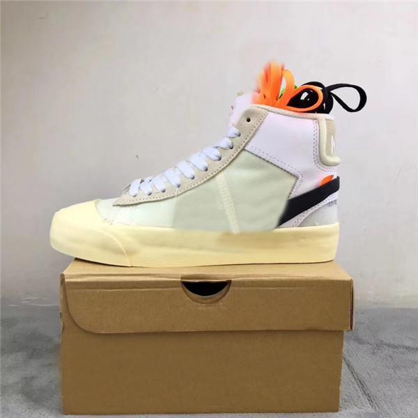 2021 Original Blazer Mid Queen 2.0 Summe Reaper Alle Hallows Eve Serena Williams Weiße Männer Frauen Outdoor Schuhe Sport Turnschuhe aus mit Box