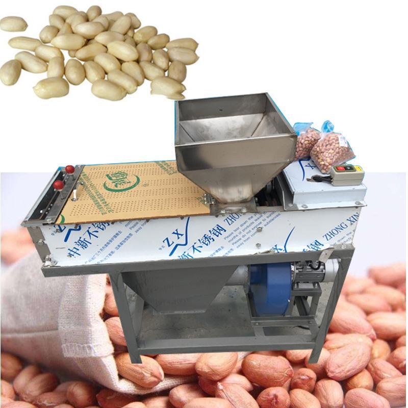 LB-75 arachide peau rouge opération petit rôti facile à sec éplucheuse arachide peau rouge arachide éplucheur machine à éplucher