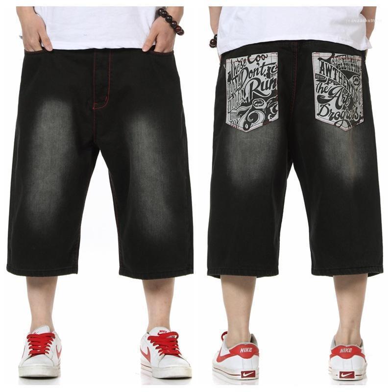 Hop Homme en vrac Vêtements pour hommes 2020 de luxe de Pantalon court été Taille Plus Corsaires Jeans Hip