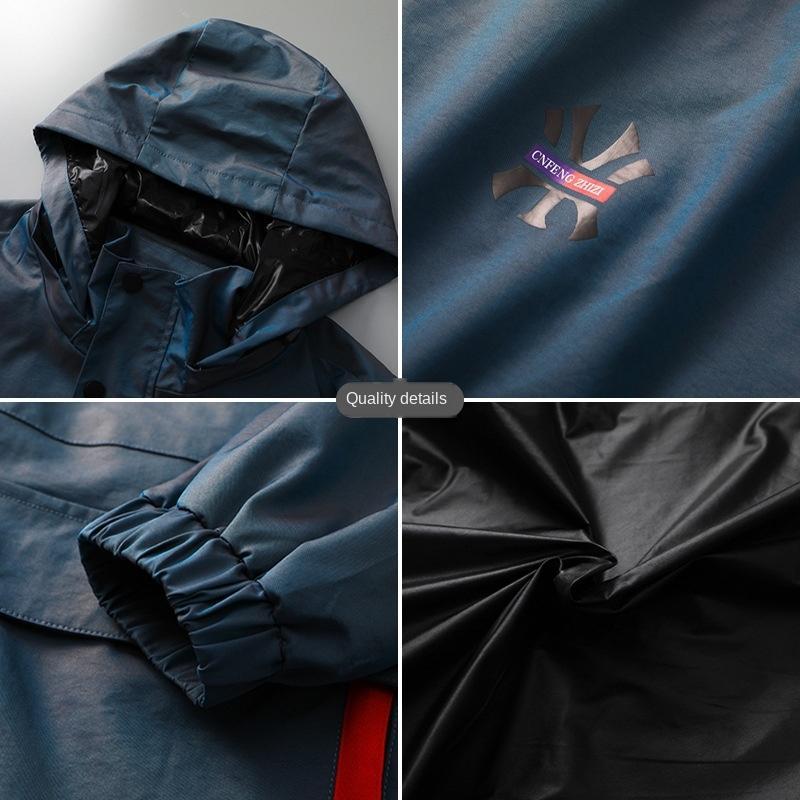NRVBg A0oxb весной и осенью тонкие случайные мужской плюс плюс куртка съемный шлем спецодежда размер куртки пальто толстый рыхлый верхний