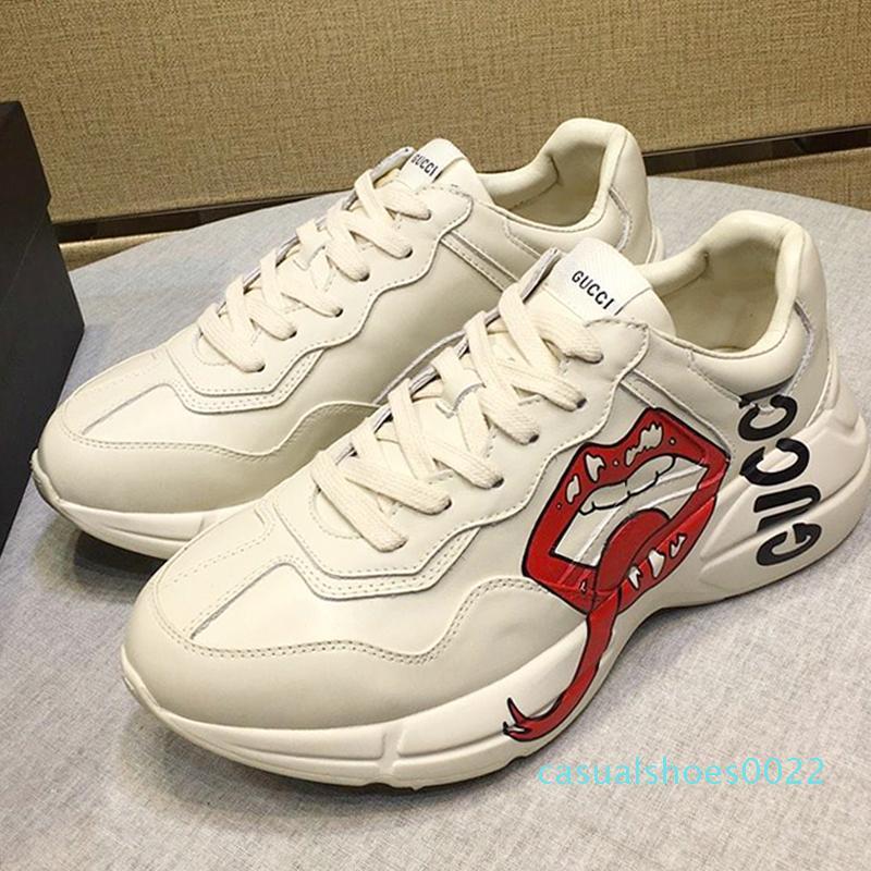 2020 Günlük Ayakkabılar Sneakers Nefes ile Kutusu Rhyton Sneaker Lüks Zapatos De Mujer Moda Günlük Shoes3 c22