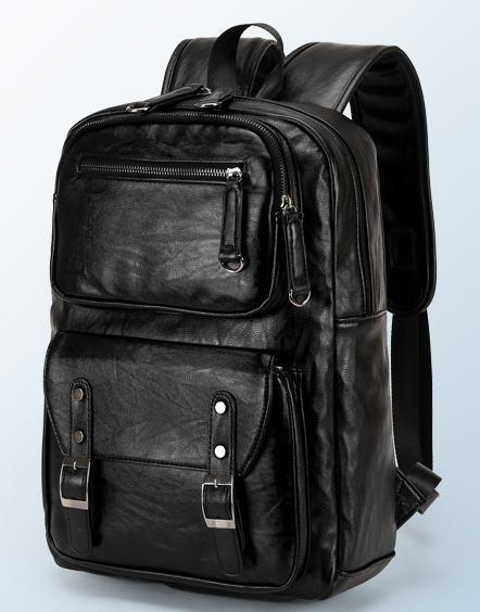 bolsa de couro Novo- saco de viagem 39x28x11cm tamanho saco de bagagem mochila