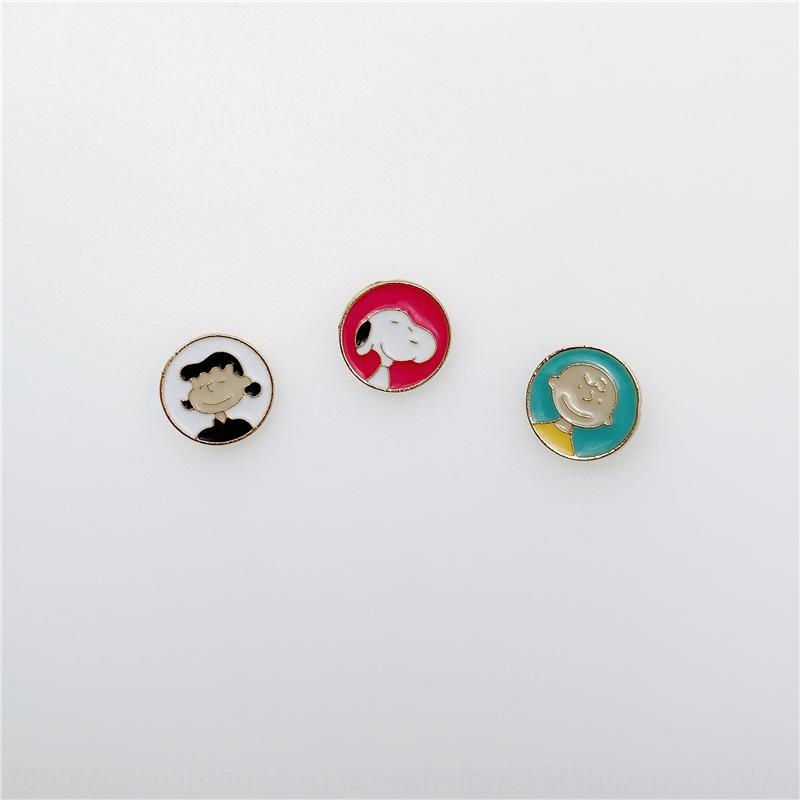 accessories creative cartoon Snoopy brooch Children's Fun badge all-match pin Badge accessories ins clothes bag cute Mhpb9