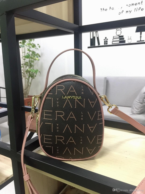 Дизайнер сумка мода ретро маленькая круглая сумка сумка тенденция портативной мини-сумка классический классический классический L9528