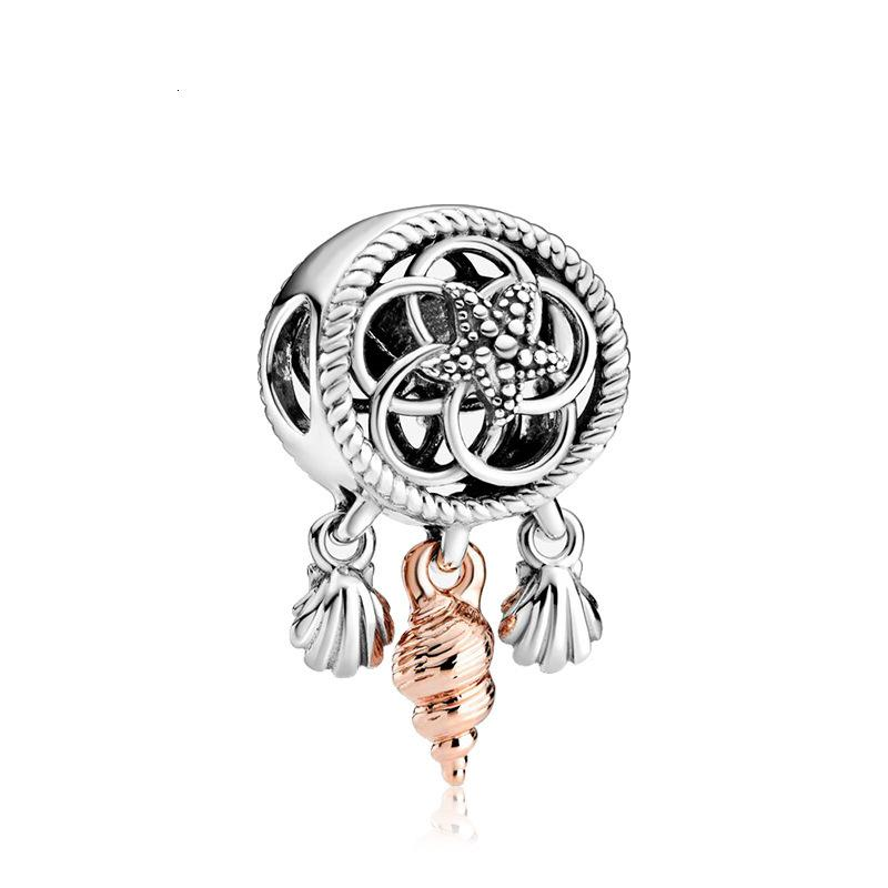 New 2020 Traumfänger Anhänger Reize hohe Qualität Perlen Schmuck trendy Reize Anpassung Pandora Armband Armreif für Frauen