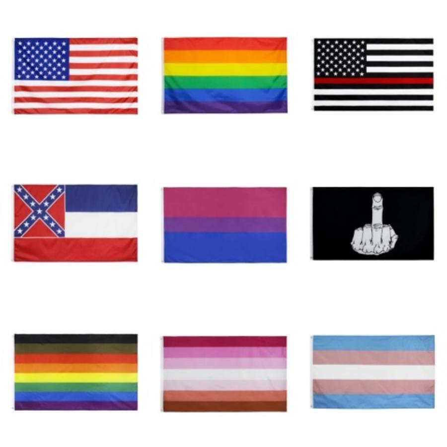 Новый позолоченный Military Army нержавеющей стали Tag Trendy США Символ Американский флаг Подвески Ожерелья для мужчин Женщины Jewelry 375 # 106