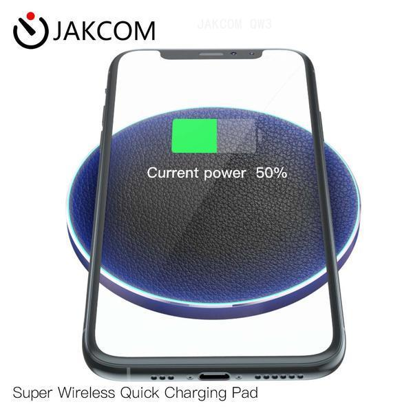 JAKCOM QW3 Super Wireless Quick Charging Pad New Cell Phone Chargers as cozmo robot cctv camera hexohm