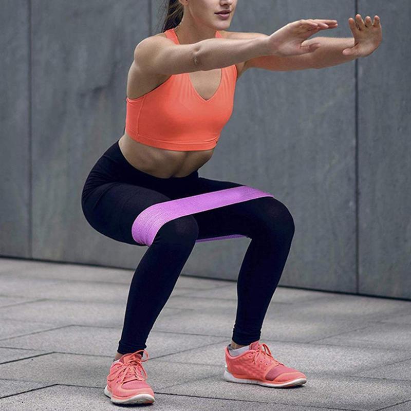 Bandas Gym Fitness Resistência estiramento Training Exercício Elastic aptidão Latex bandas Sports Yoga Gym Gum Pull Up Expander