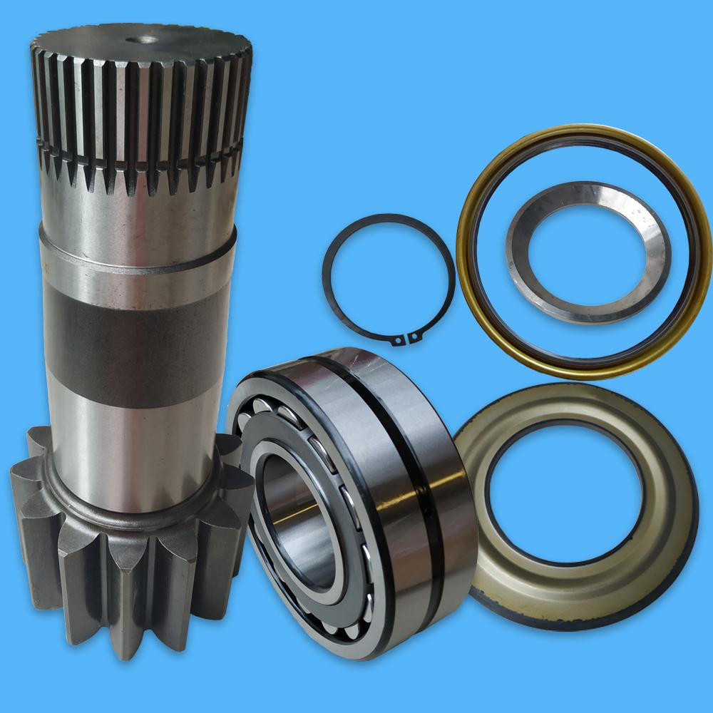 Swing Reduction Prop Shaft YM32W01002P1 Spherical Bearing YN32W01029P1 Oil Seal YN32W01081P1 Sleeve and Ring Retainer for SK200-8 SK-8